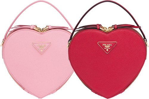 Prada Odette Heart Bag thumb