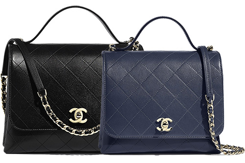 Chanel Calfskin Double Pocket Bag thumb
