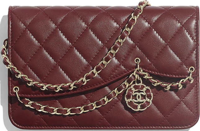 Chanel Chain Card Holder