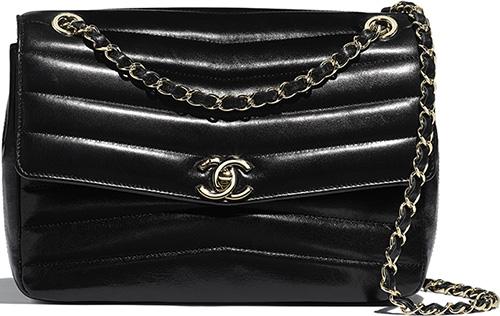 Chanel Double Chevron Bag thumb