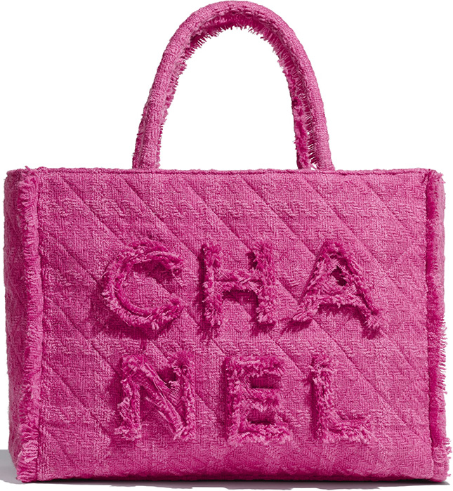 Chanel Giant Logo Shopping Bag
