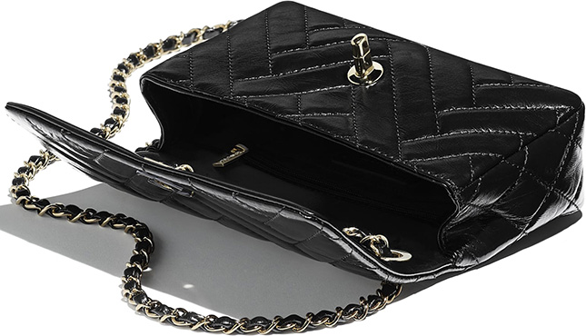 Chanel Mix Quilted New Clutch Bag