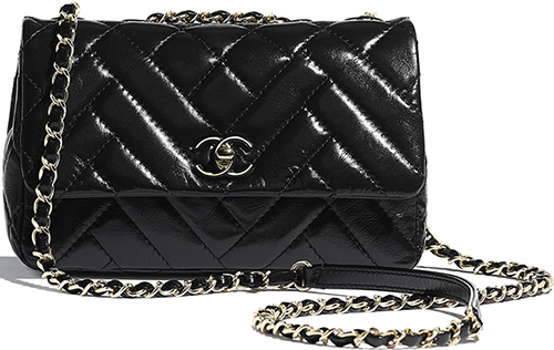 Chanel Mix Quilted New Clutch Bag thumb