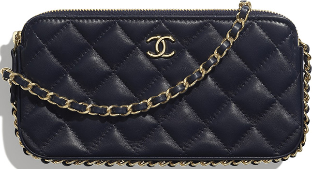 Chanel Small Chain Around Clutch With Chain