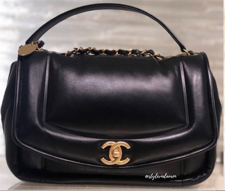 Chanel Vintage Puffy Bag