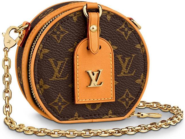 Louis Vuitton Boite Chapeau Necklace