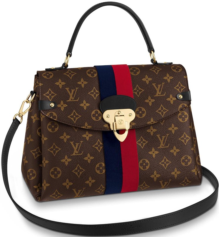 Louis Vuitton Georges Monogram Empreinte Bag