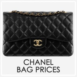 chanel bag prices side bar