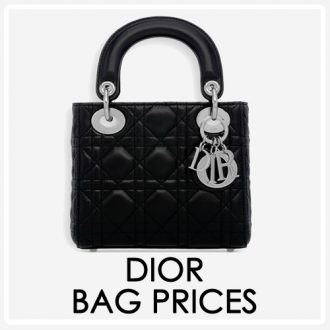 dior bag prices