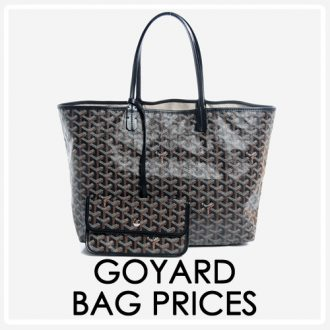 goyard bag prices