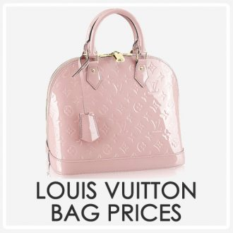 louis vuitton bag prices