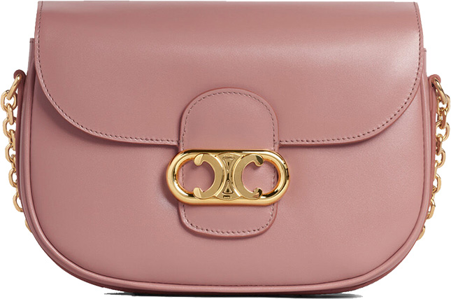 Celine Chaine Triompe Round Bag