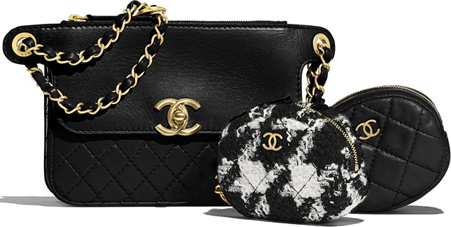 Chanel Flap Bag with Coin Purse