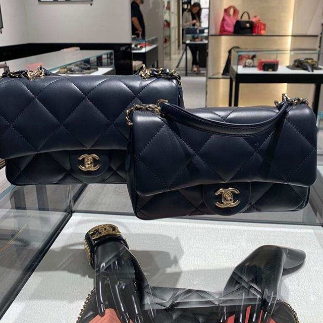 Chanel Large Quilted Classic Flap Bag