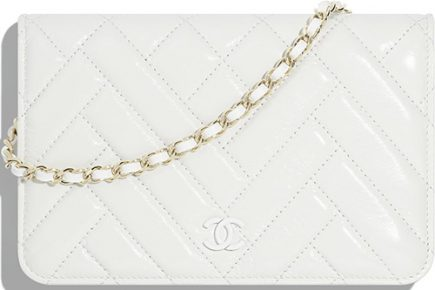 Chanel Mix Quilted Chevron WOC thumb