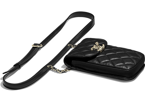 Chanel Phone Clutch With Chain and Waist Bag thumb
