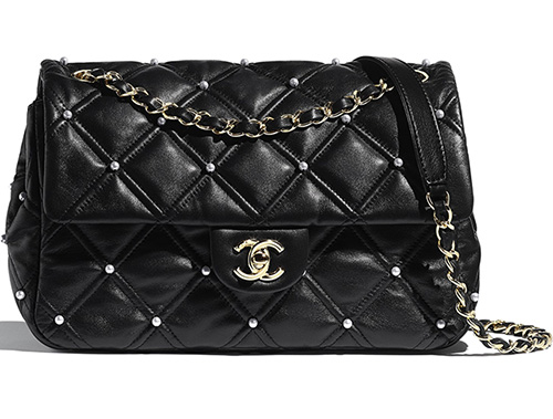 Chanel Quilted With Pearl Bag For the FW Collection thumb