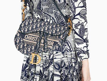 Dior Saddle Oblique Original Bag thumb