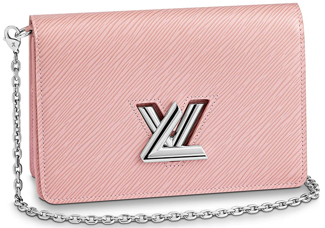Louis Vuitton Twist Belt Chain Wallet