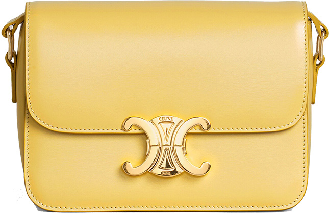 Celine Introduces The Triomphe Nano And Teen Bag