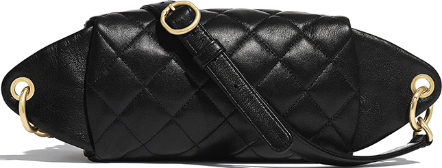 Chanel Chain Leather Link Waist Bag