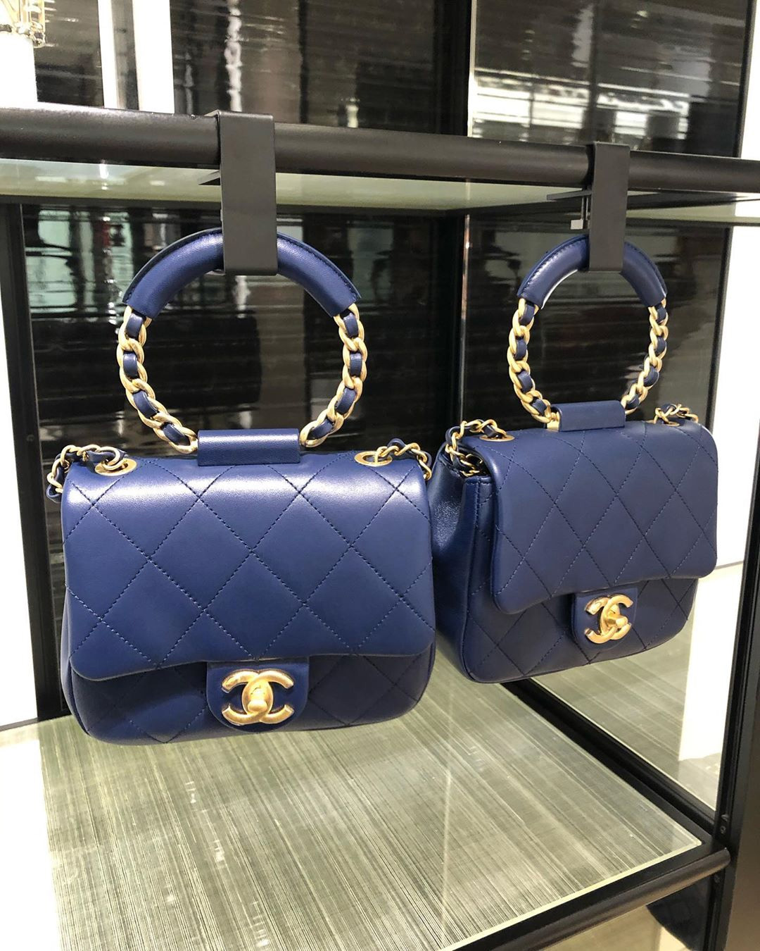 Chanel Circular Handle Bag