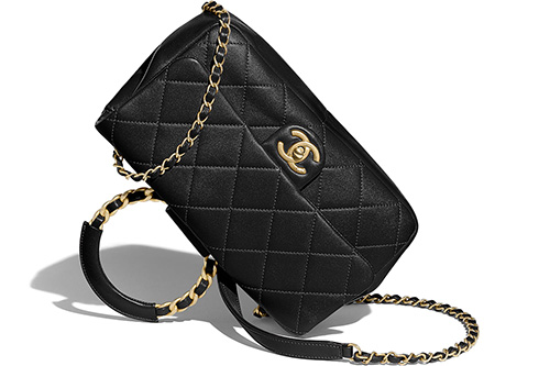 Chanel Circular Handle Bag thumb