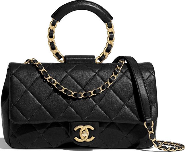 Chanel Circular Handle Bag