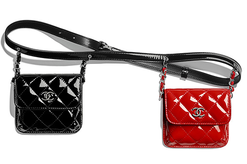 Chanel Double Mini Flap Waist Bag thumb
