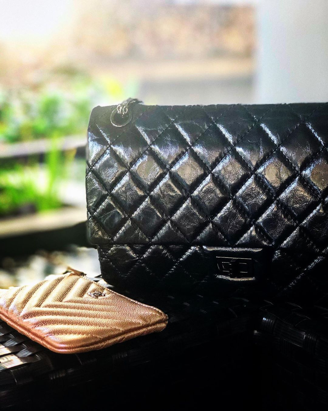 Chanel So Black Reissue . Bag
