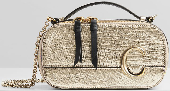 Chloe C Vanity Handle Bag