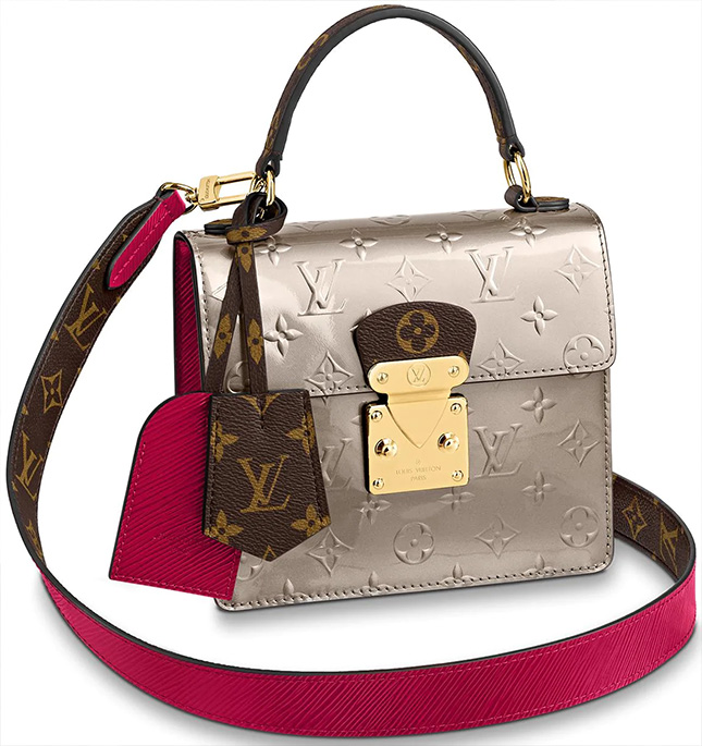 Louis Vuitton Alma Monogram Vernis Canvas And Epi Bag