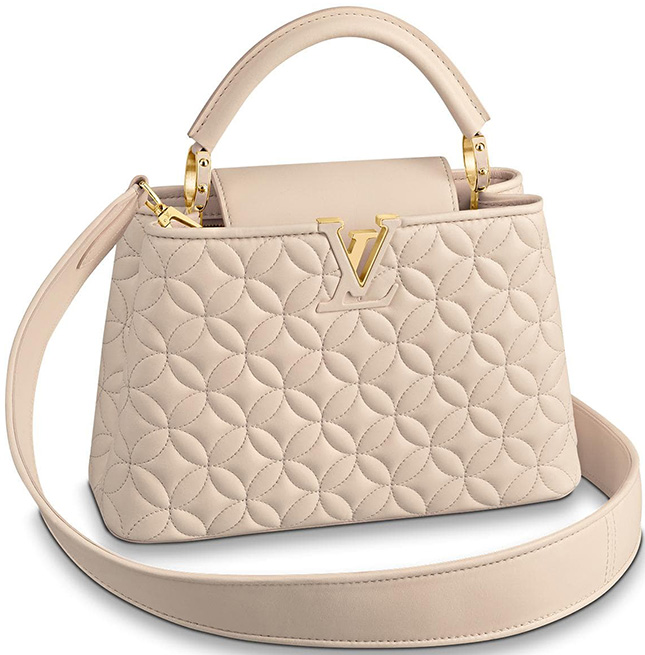 Louis Vuitton Monogram Flower Capucines Bag