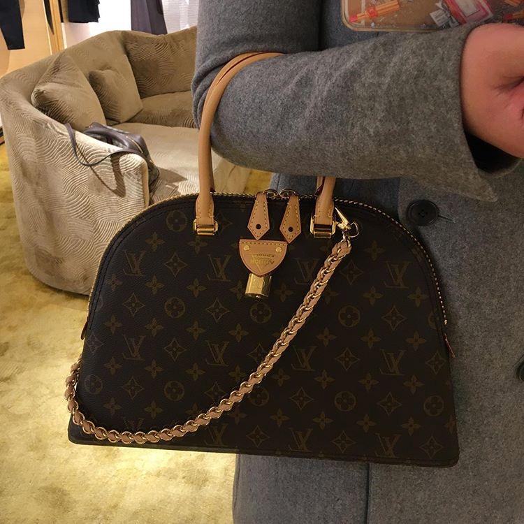 Louis Vuitton Moon Alma Bag