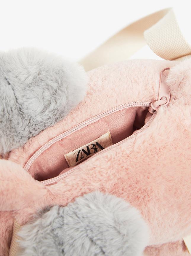 Zara Fluffy Unicorn bag