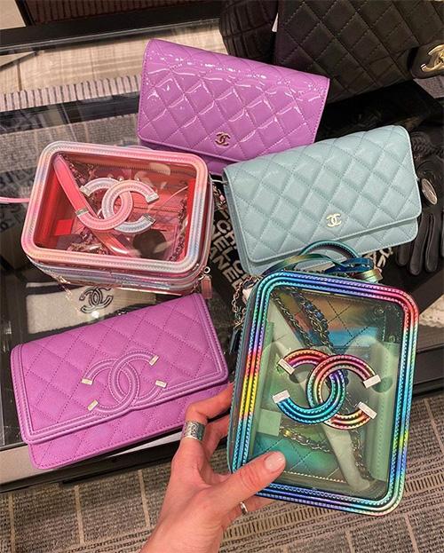 Chanel CC Filigree Transparent Bag thumb