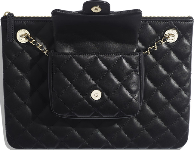 Chanel Case with Square Flap Bag