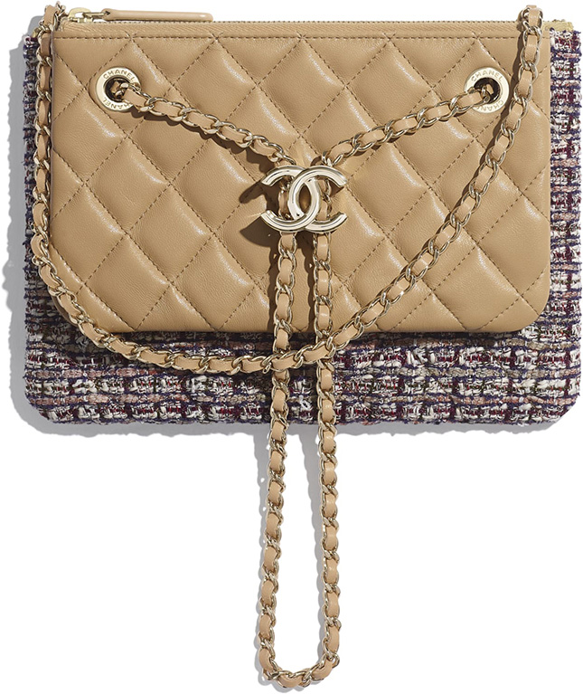 Chanel Double Case With Strap Chanel's Gabrielle Style