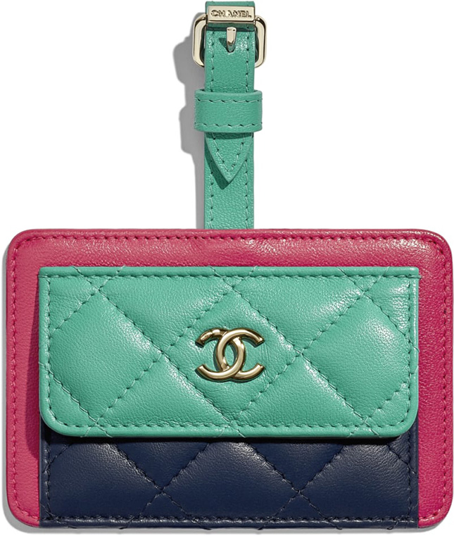 Chanel Luggage Tags