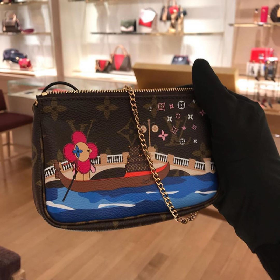 Louis Vuitton Holiday Editions Featuring House's Vivienne Mascot For Xmas