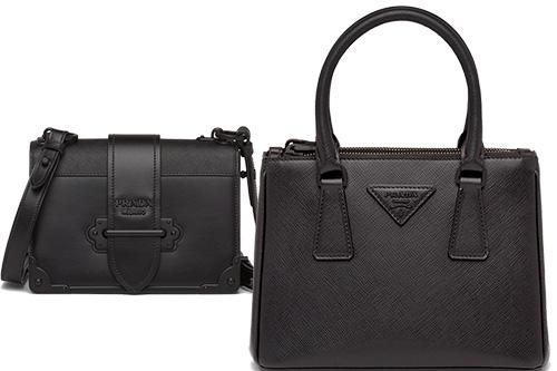 Top Prada All Black Bags thumb