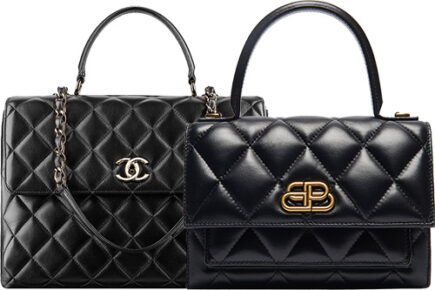 Balenciaga Sharp Bag Looks Exactly Like Chanel Trendy CC Bag Or Not thumb