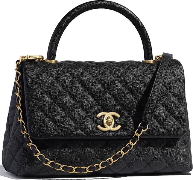 Chanel So Black Coco Handle Bag