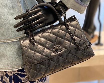 Chanel So Black Coco Handle Bag thumb