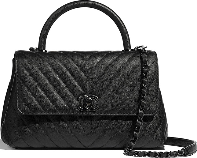 Chanel So Black Coco Handle Bag