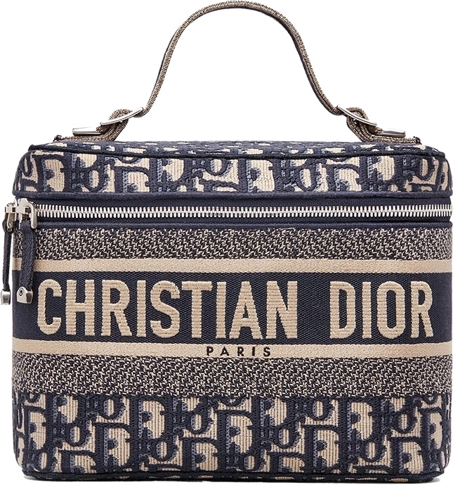 Dior Oblique Beauty And Jewelry Case