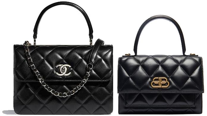 chanel trendy cc vs balenciaga sharp bag