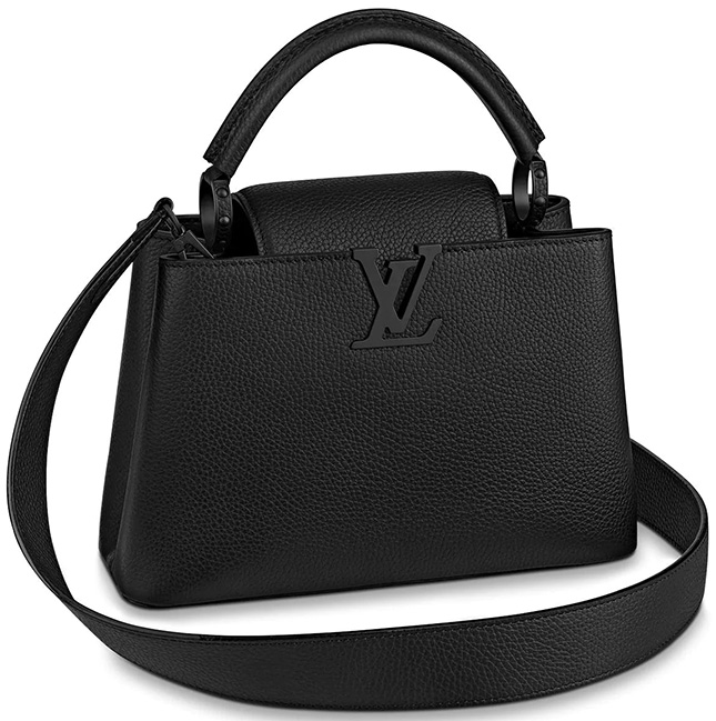 Louis Vuitton All Black Bags For The Spring Summer Collection