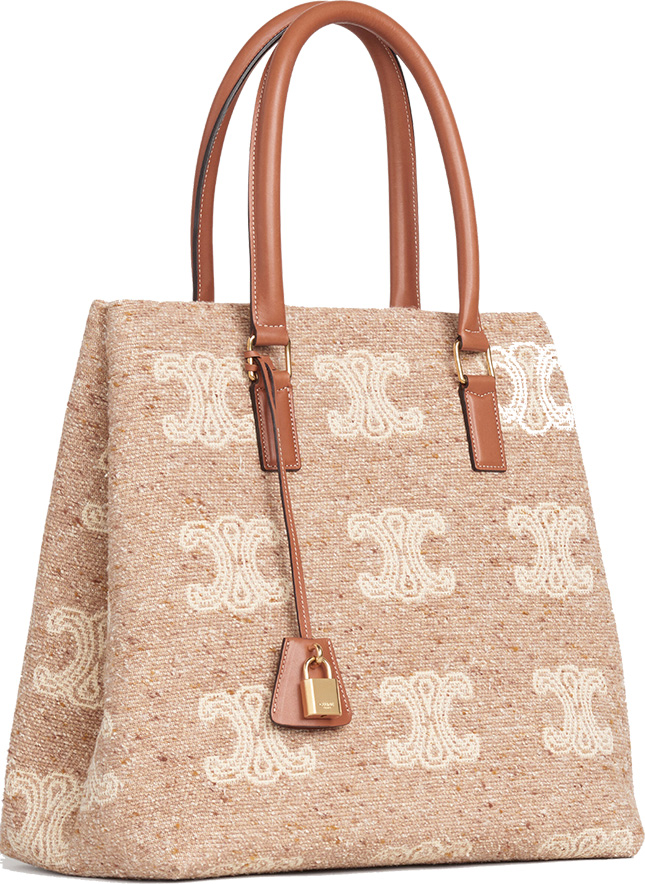 Celine Triomphe Horizontal Cabas Bag