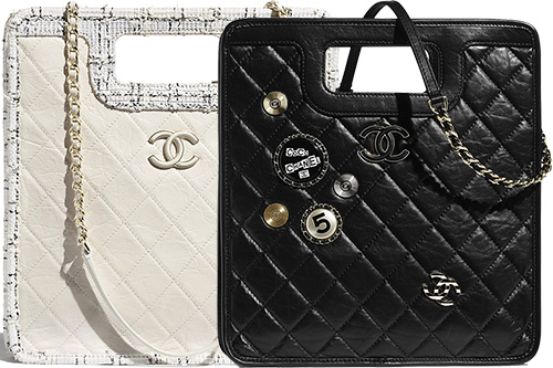 Chanel Handle Shopping Bag thumb